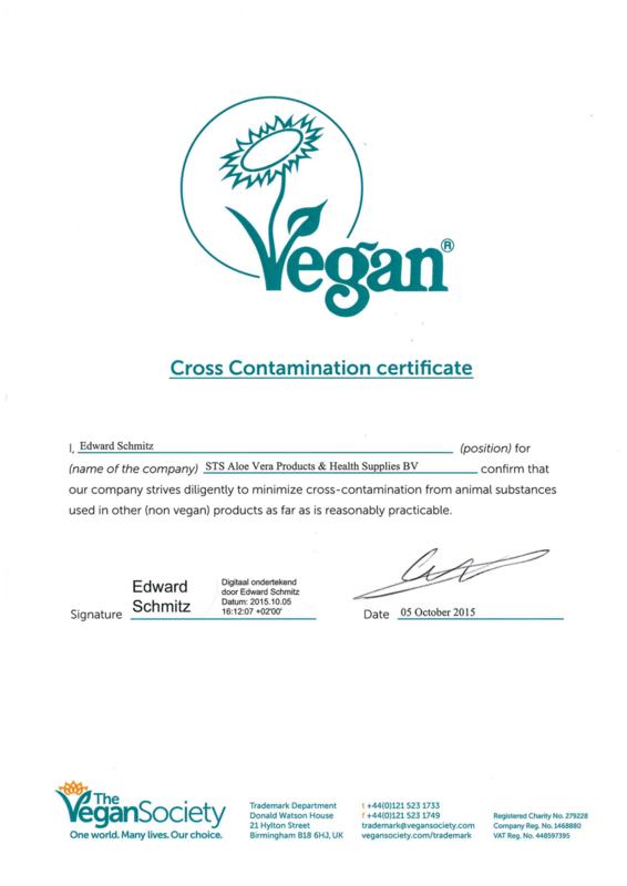 ecolife aloe vera gel 100% is ook voor veganisten en vegatairiers geschikt. Natuurlijk gezond met aloevera.